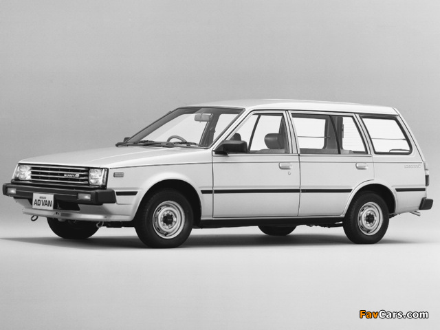 Pictures of Nissan Sunny AD Van (VB11) 1985–90 (640 x 480)