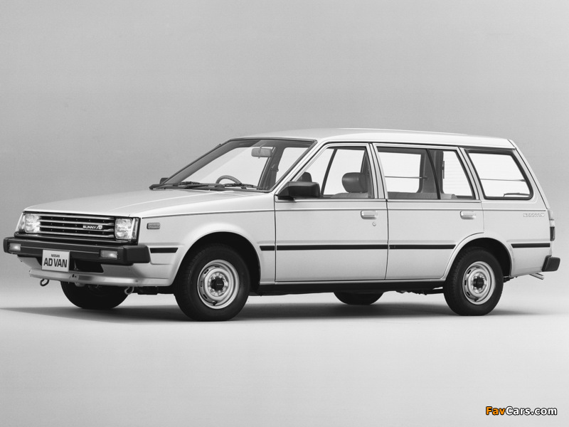 Pictures of Nissan Sunny AD Van (VB11) 1985–90 (800 x 600)