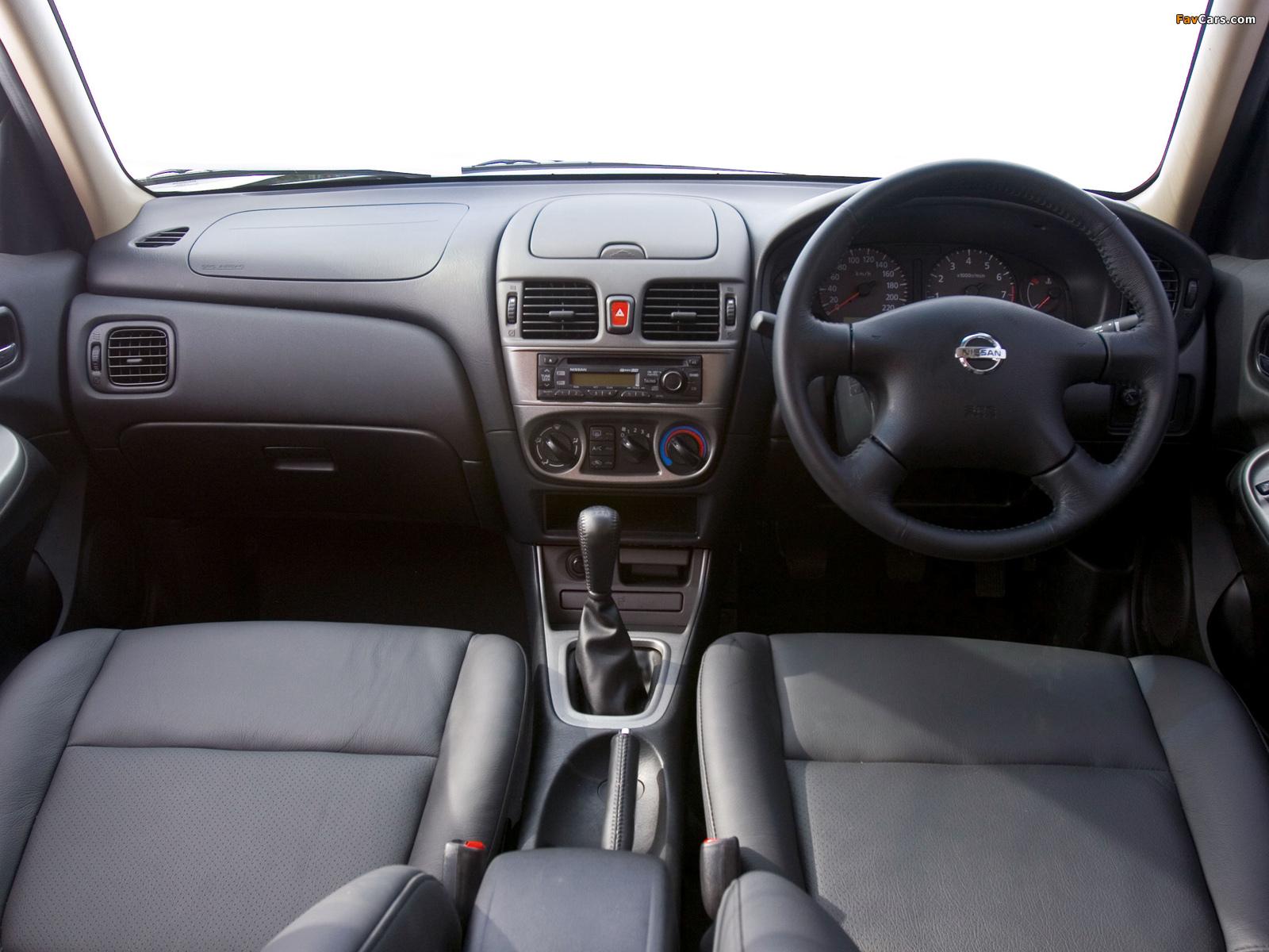 Images of Nissan Almera Sedan ZA-spec (N16) 2003–06 (1600 x 1200)