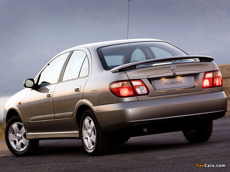 Images of Nissan Almera Sedan ZA-spec (N16) 2003–06 (800 x 600)