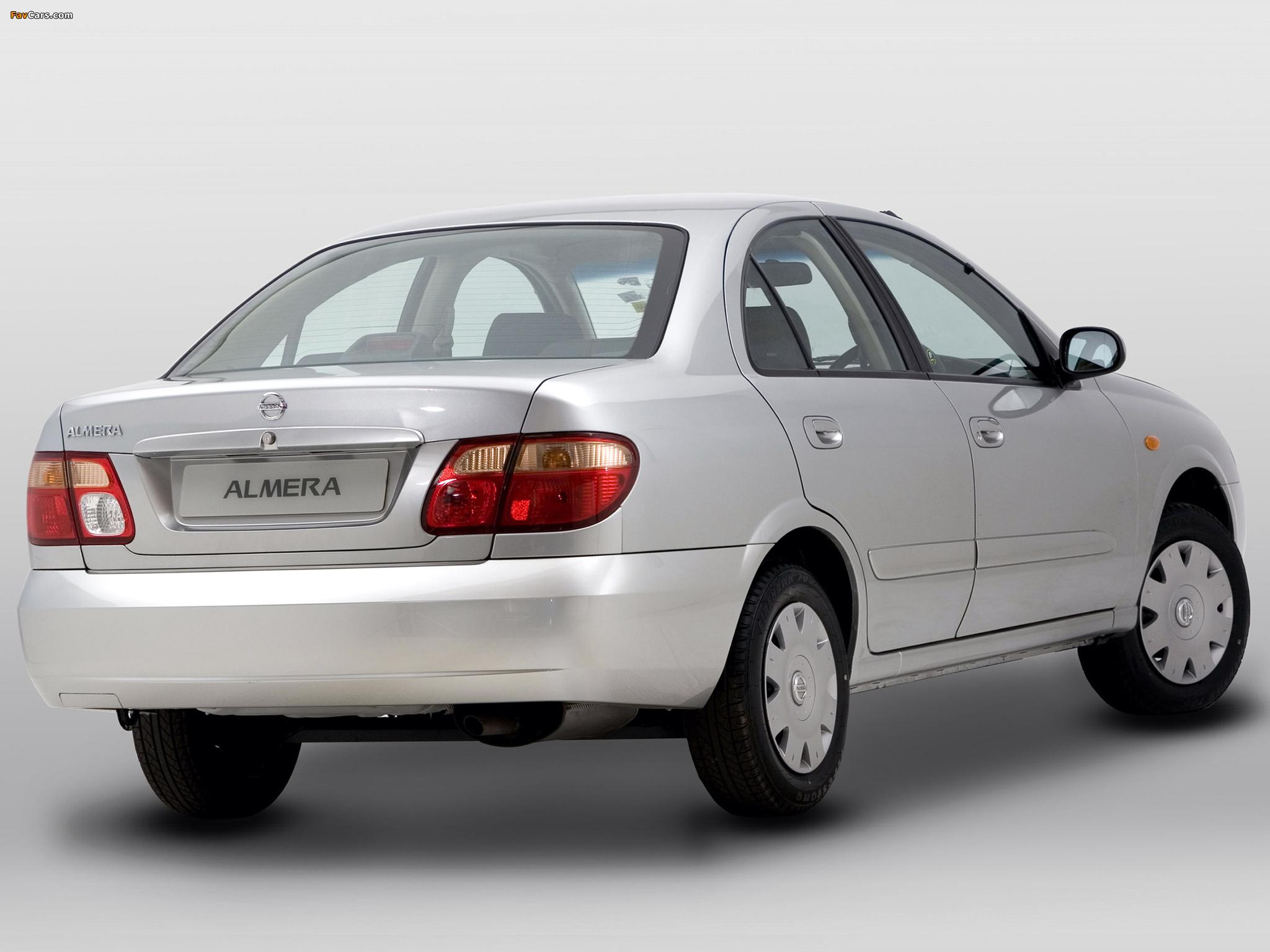 Images of Nissan Almera Sedan ZA-spec (N16) 2003–06 (2048 x 1536)