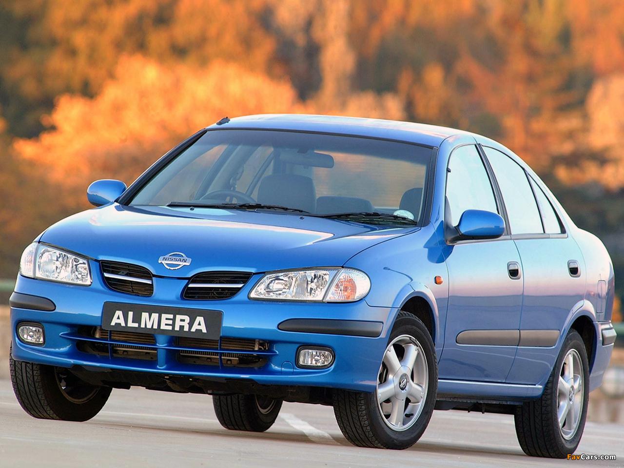 Nissan Almera Sedan Za Spec N16 2000 03 Photos 1280x960