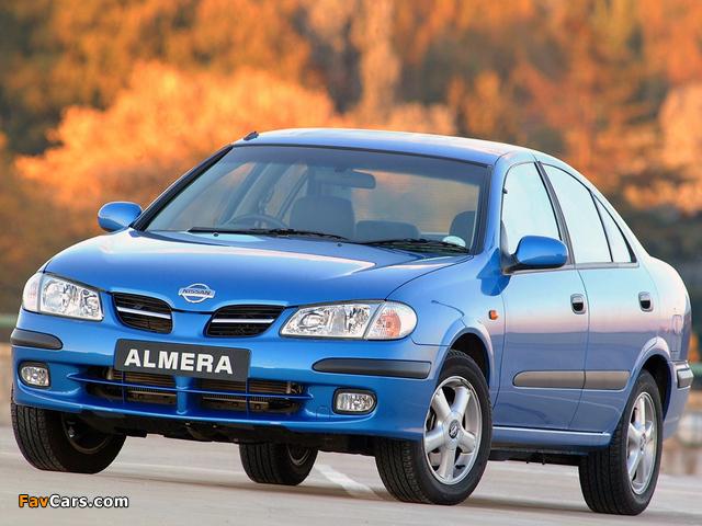 Nissan Almera Sedan ZA-spec (N16) 2000–03 photos (640 x 480)