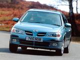 Nissan Almera 5-door UK-spec (N16) 2000–03 photos