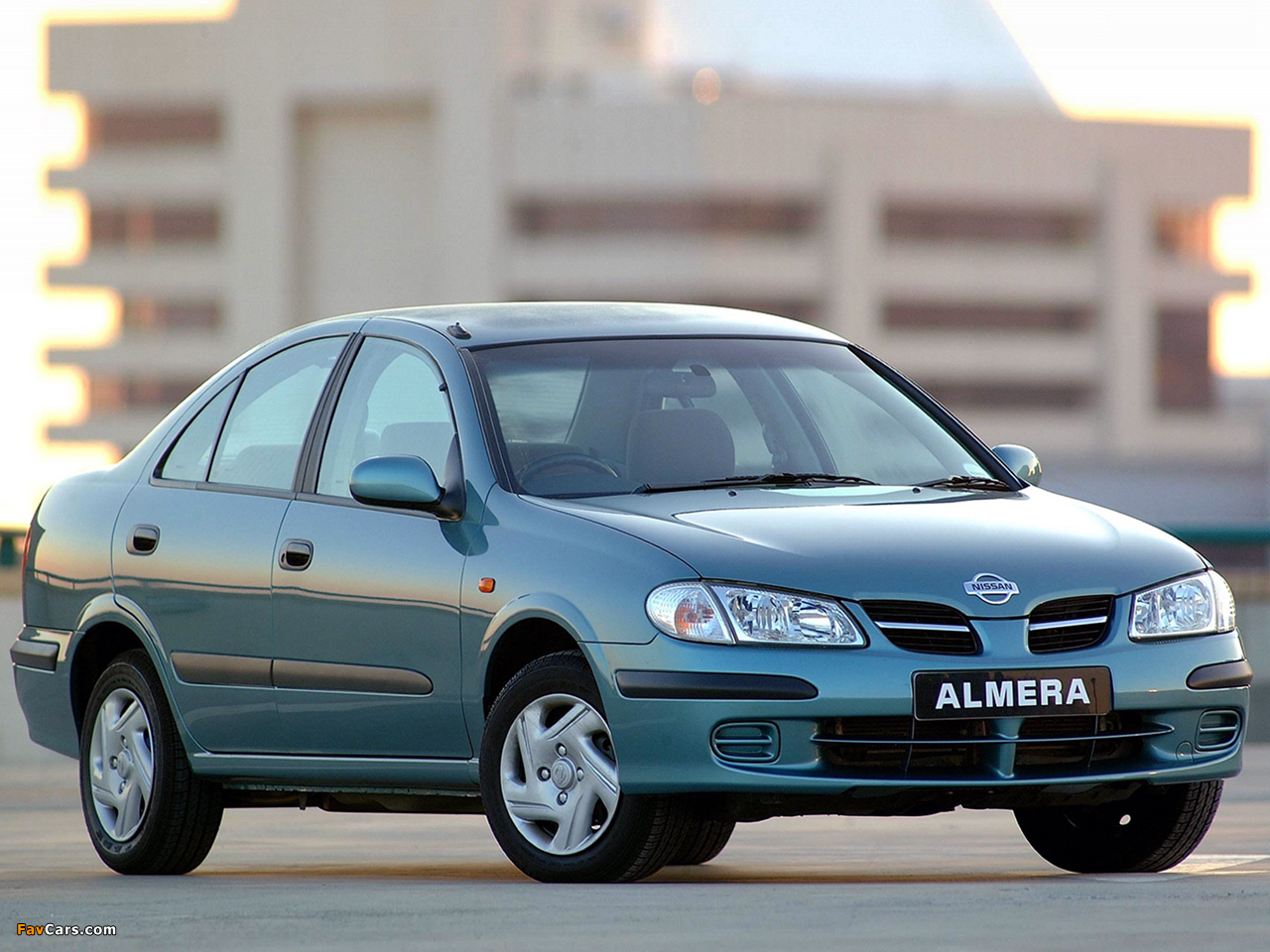 Nissan Almera Sedan ZA-spec (N16) 2000–03 pictures (1280 x 960)