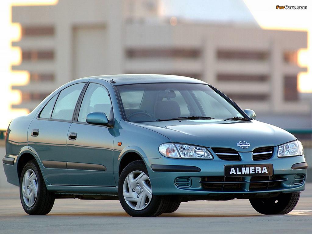 Nissan Almera Sedan ZA-spec (N16) 2000–03 pictures (1024 x 768)