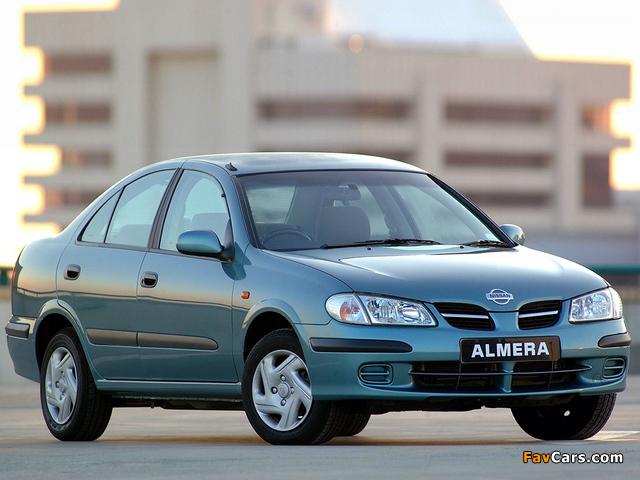 Nissan Almera Sedan ZA-spec (N16) 2000–03 pictures (640 x 480)