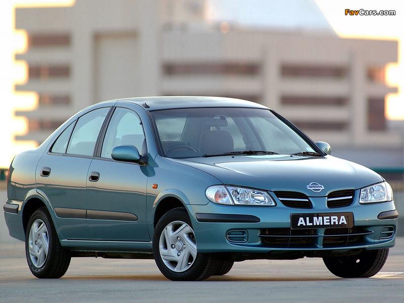 Nissan Almera Sedan ZA-spec (N16) 2000–03 pictures (800 x 600)