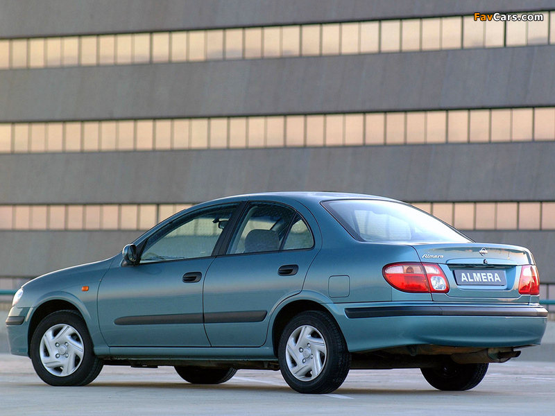 Nissan Almera Sedan ZA-spec (N16) 2000–03 pictures (800 x 600)