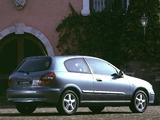 Nissan Almera 3-door (N16) 2000–03 wallpapers