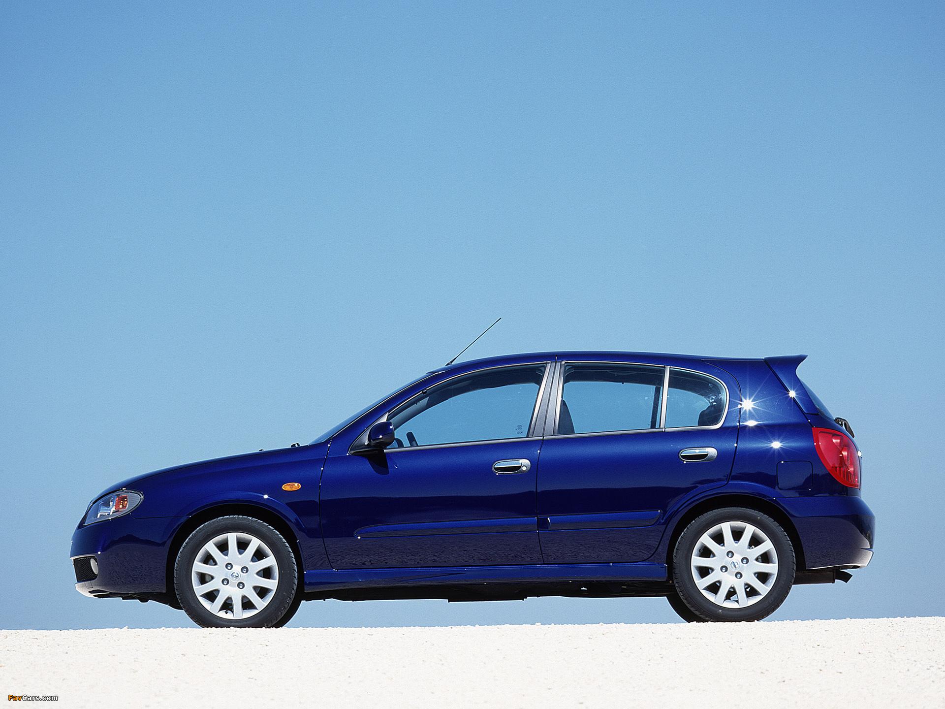 Nissan Almera 5-door (N16) 2003–06 images (1920 x 1440)