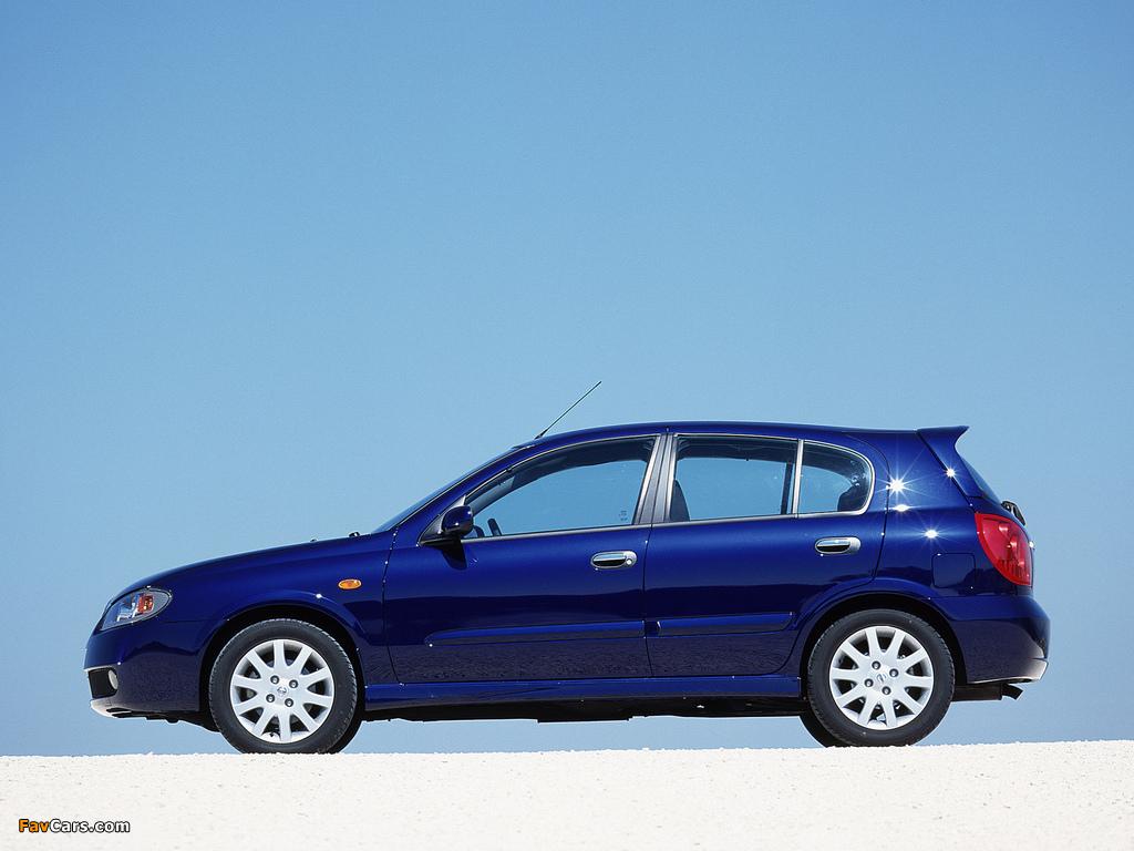 Nissan Almera 5-door (N16) 2003–06 images (1024 x 768)