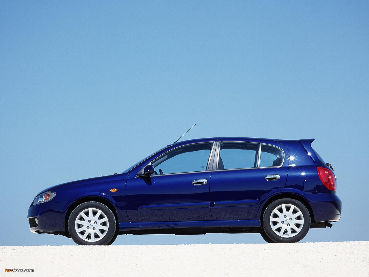 Nissan Almera 5-door (N16) 2003–06 images (1280 x 960)