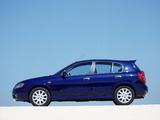 Nissan Almera 5-door (N16) 2003–06 images