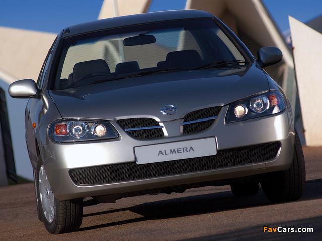 Nissan Almera Sedan ZA-spec (N16) 2003–06 images (640 x 480)
