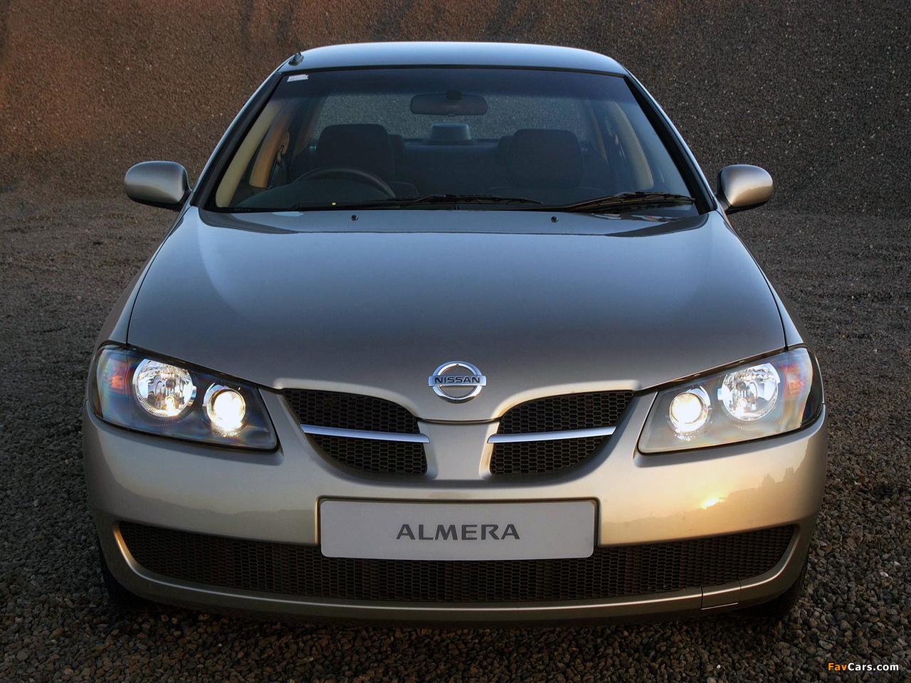 Nissan Almera Sedan Za Spec N16 2003 06 Photos 1280x960