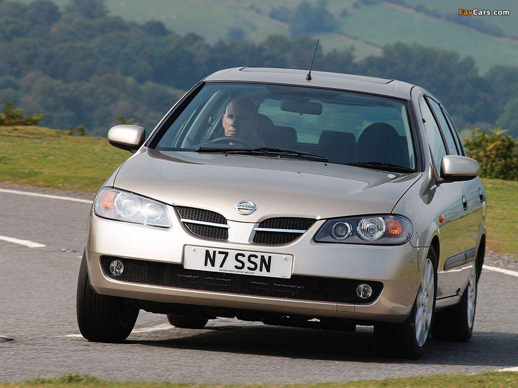 Nissan Almera 5-door UK-spec (N16) 2003–06 photos (1024 x 768)