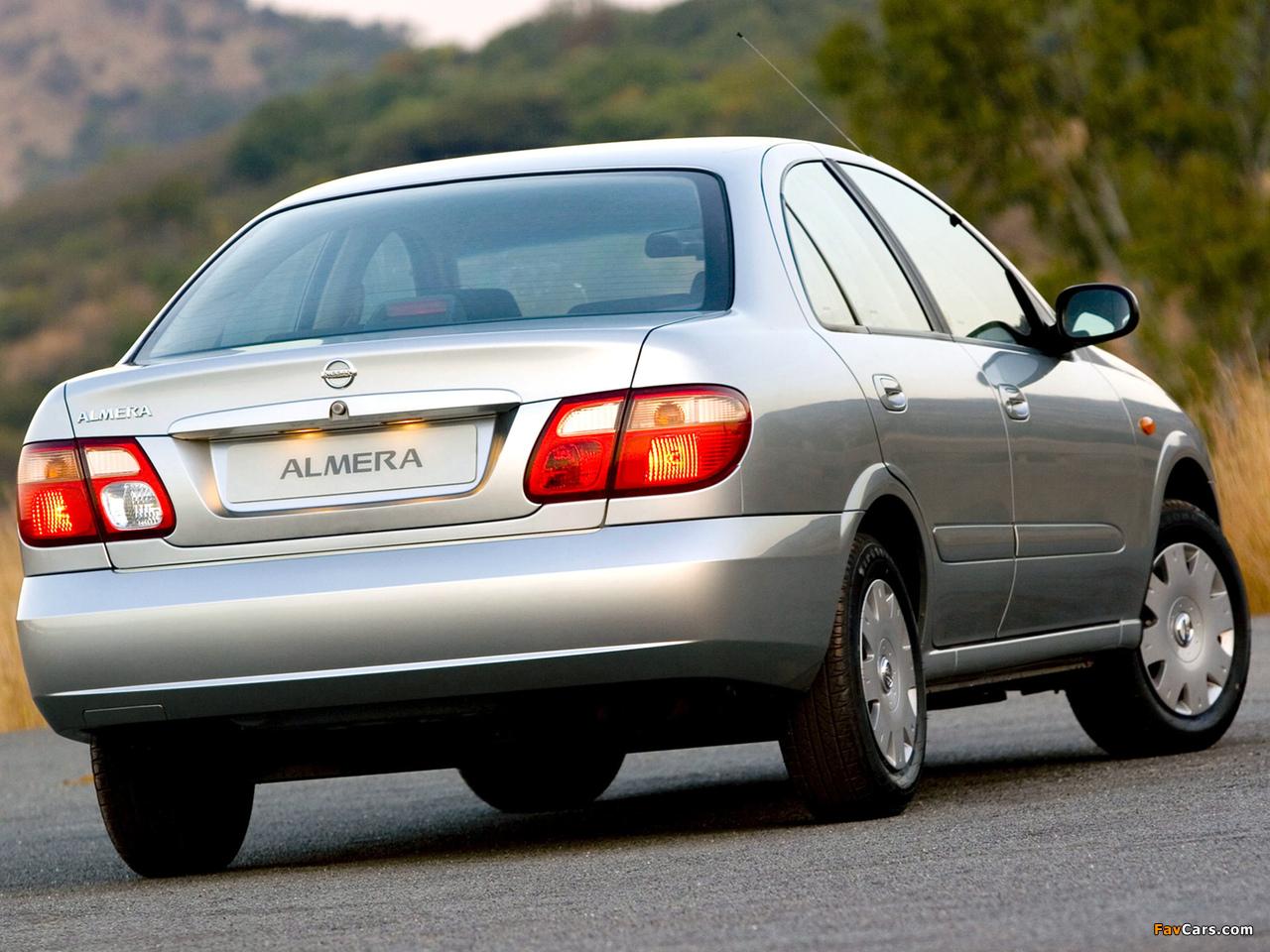 Nissan Almera Sedan ZA-spec (N16) 2003–06 photos (1280 x 960)
