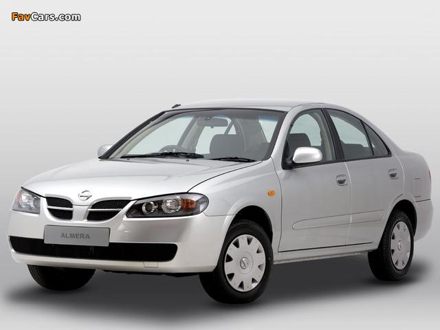 Nissan Almera Sedan ZA-spec (N16) 2003–06 pictures (640 x 480)