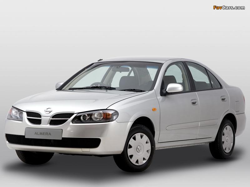 Nissan Almera Sedan ZA-spec (N16) 2003–06 pictures (800 x 600)