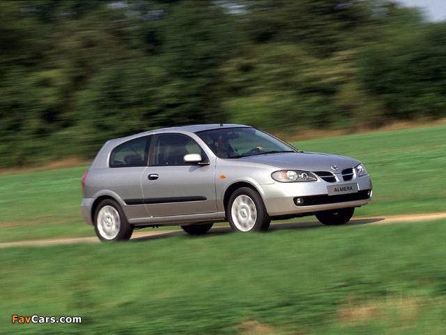 Nissan Almera 3-door (N16) 2003–06 pictures (640 x 480)