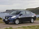 Nissan Almera AU-spec (B17) 2012 images