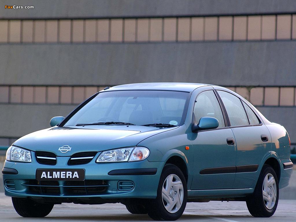 Pictures of Nissan Almera Sedan ZA-spec (N16) 2000–03 (1024 x 768)