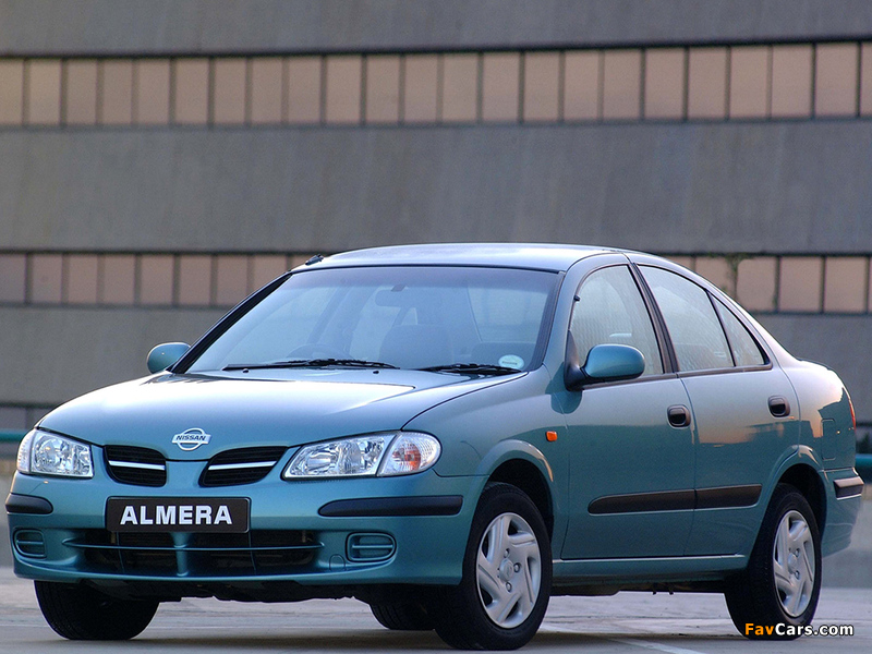 Pictures of Nissan Almera Sedan ZA-spec (N16) 2000–03 (800 x 600)