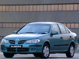 Pictures of Nissan Almera Sedan ZA-spec (N16) 2000–03