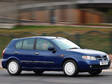 Pictures of Nissan Almera 5-door UK-spec (N16) 2003–06