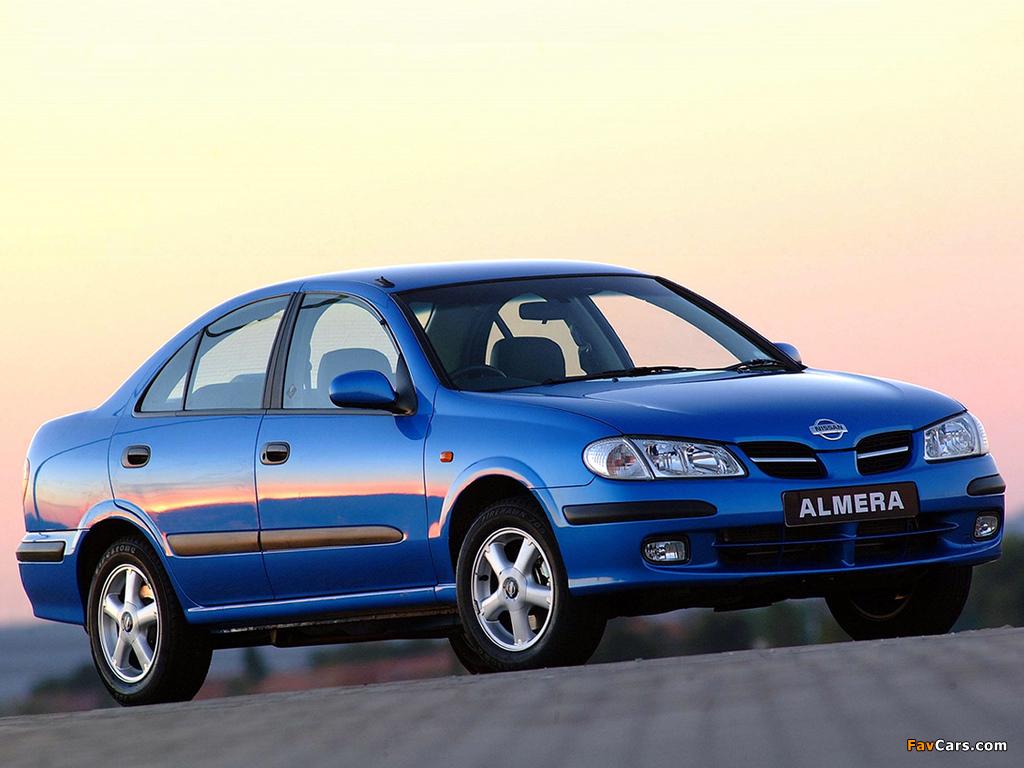 Nissan Almera Sedan ZA-spec (N16) 2000–03 wallpapers (1024 x 768)