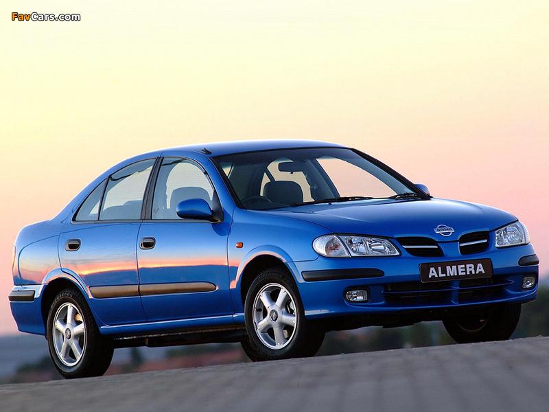Nissan Almera Sedan ZA-spec (N16) 2000–03 wallpapers (800 x 600)
