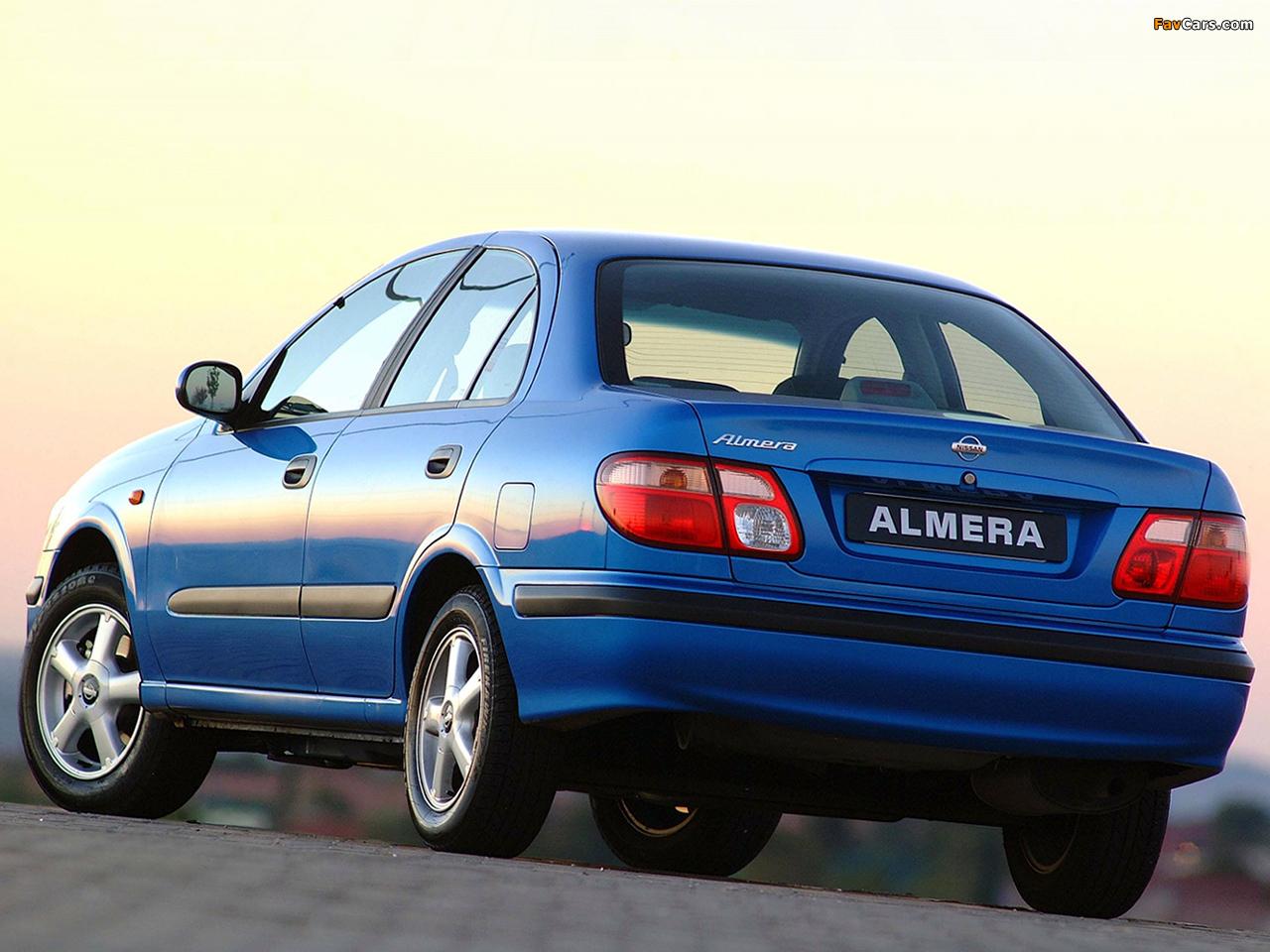 Nissan Almera Sedan ZA-spec (N16) 2000–03 wallpapers (1280 x 960)