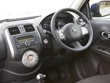 Nissan Almera AU-spec (B17) 2012 wallpapers
