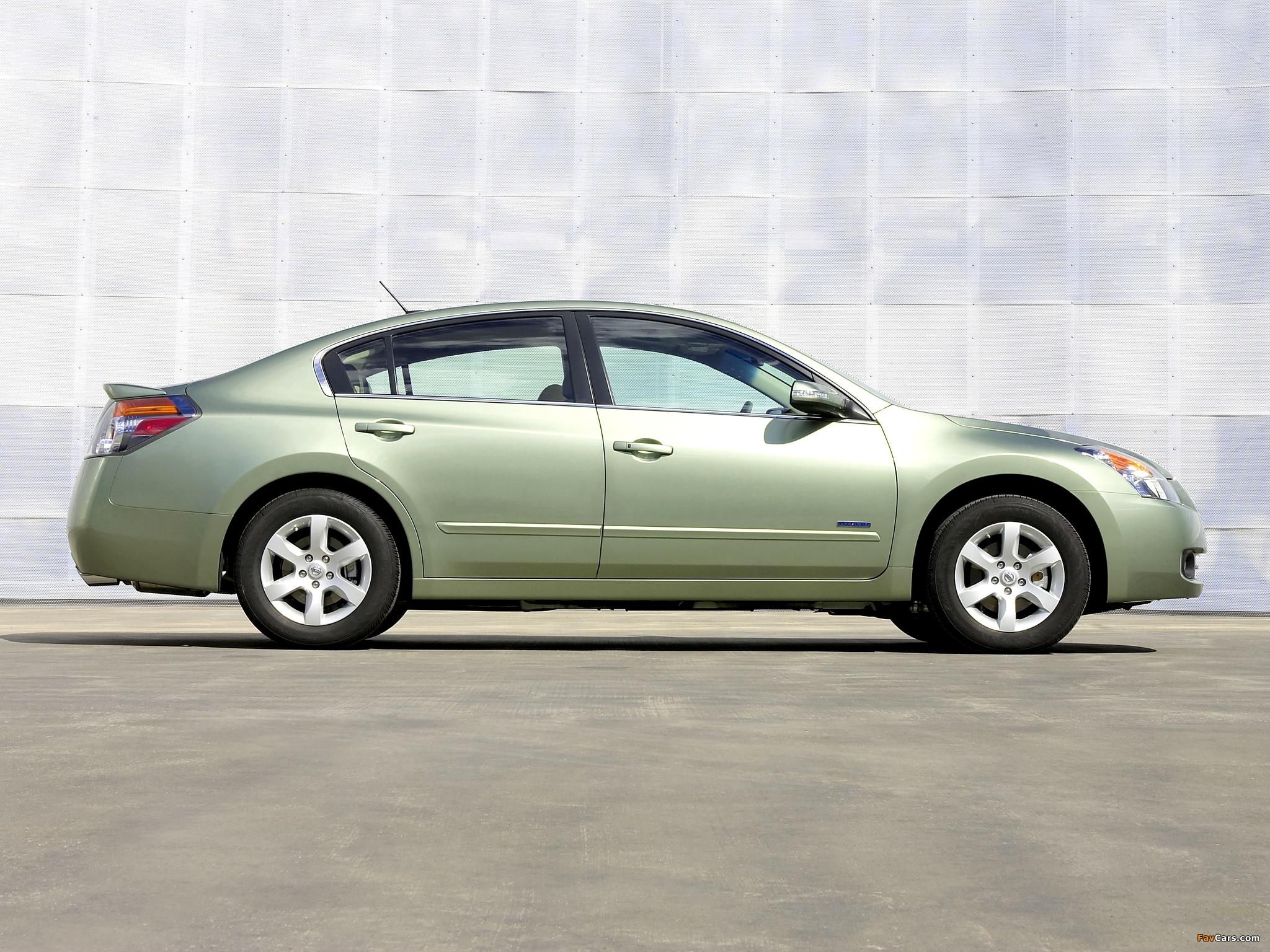 Images of Nissan Altima Hybrid (L32) 2007–09 (2048 x 1536)
