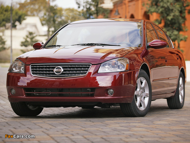 Nissan Altima Se R 2002 06 Wallpapers 640x480
