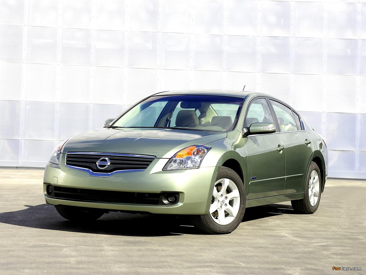 Nissan Altima Hybrid (L32) 2007–09 images (1280 x 960)