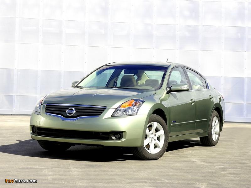Nissan Altima Hybrid (L32) 2007–09 images (800 x 600)
