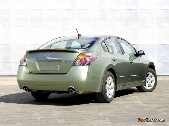 Nissan Altima Hybrid (L32) 2007–09 photos (640 x 480)