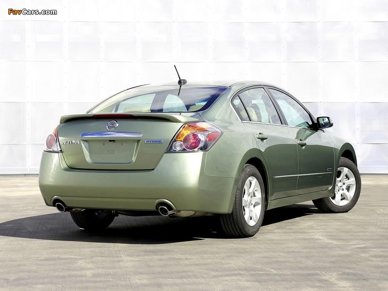 Nissan Altima Hybrid (L32) 2007–09 photos (800 x 600)