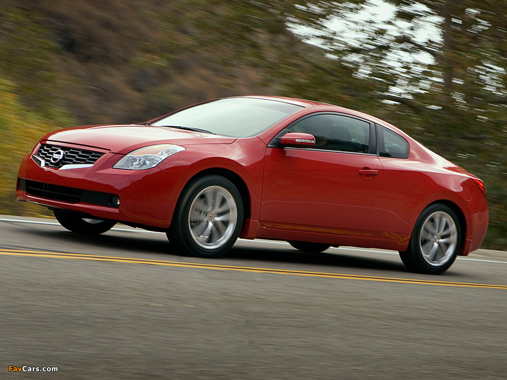 Nissan Altima Coupe U32 2007 09 Pictures 1024x768