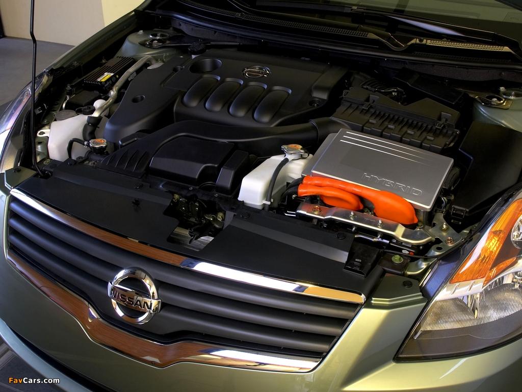Nissan Altima Hybrid (L32) 2007–09 wallpapers (1024 x 768)