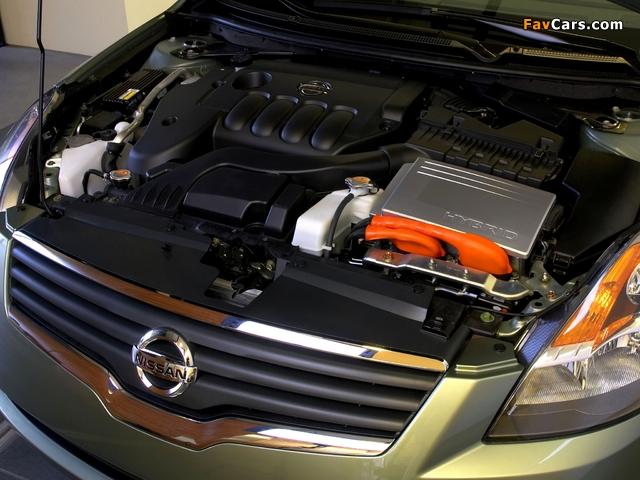 Nissan Altima Hybrid (L32) 2007–09 wallpapers (640 x 480)