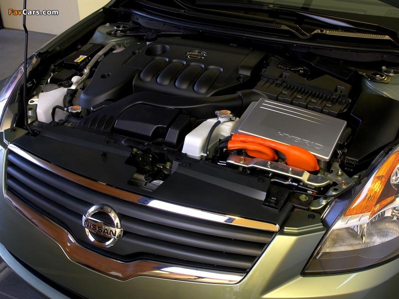 Nissan Altima Hybrid (L32) 2007–09 wallpapers (800 x 600)