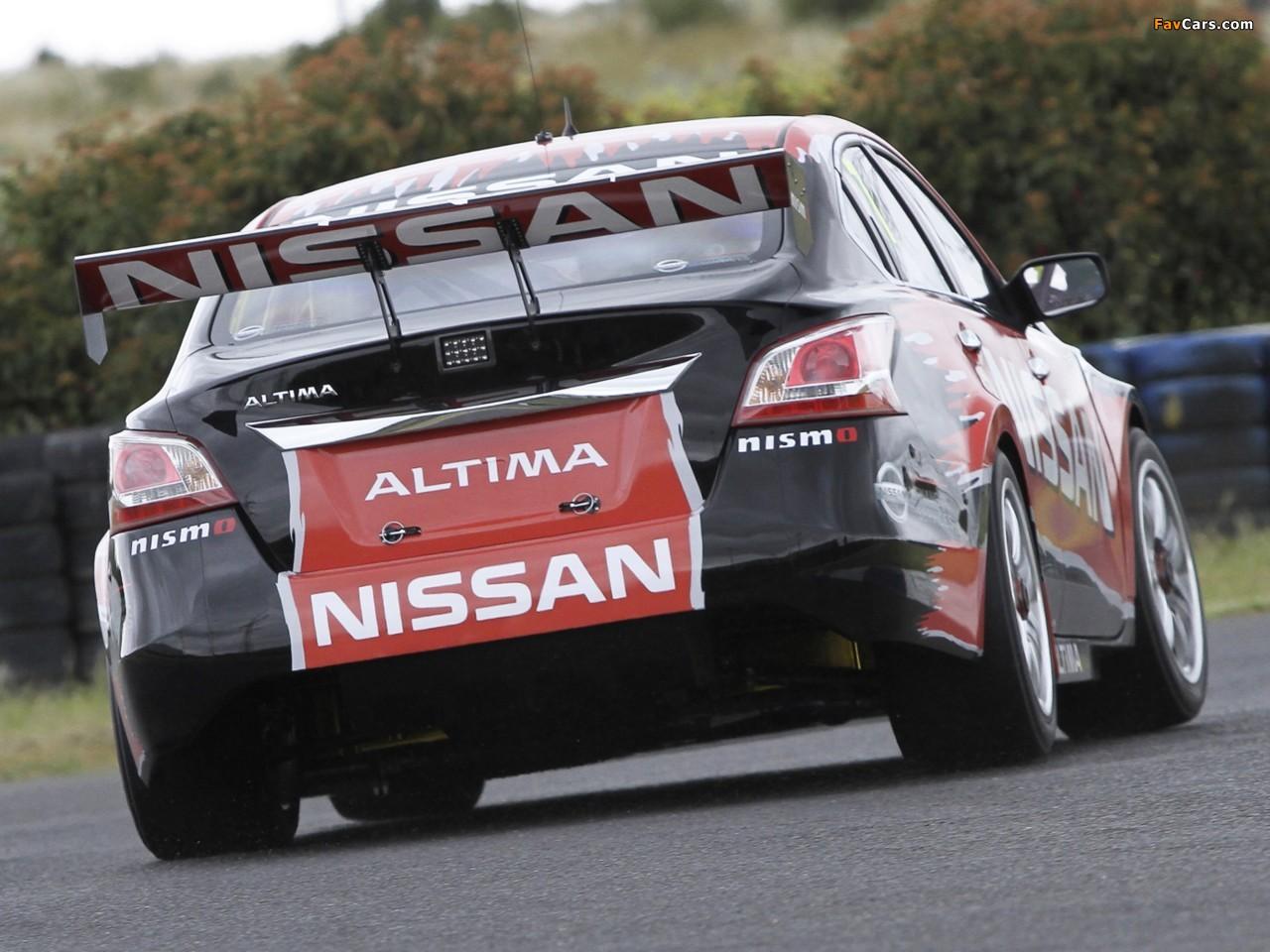 Nissan Altima V8 Supercar (L33) 2012 photos (1280 x 960)