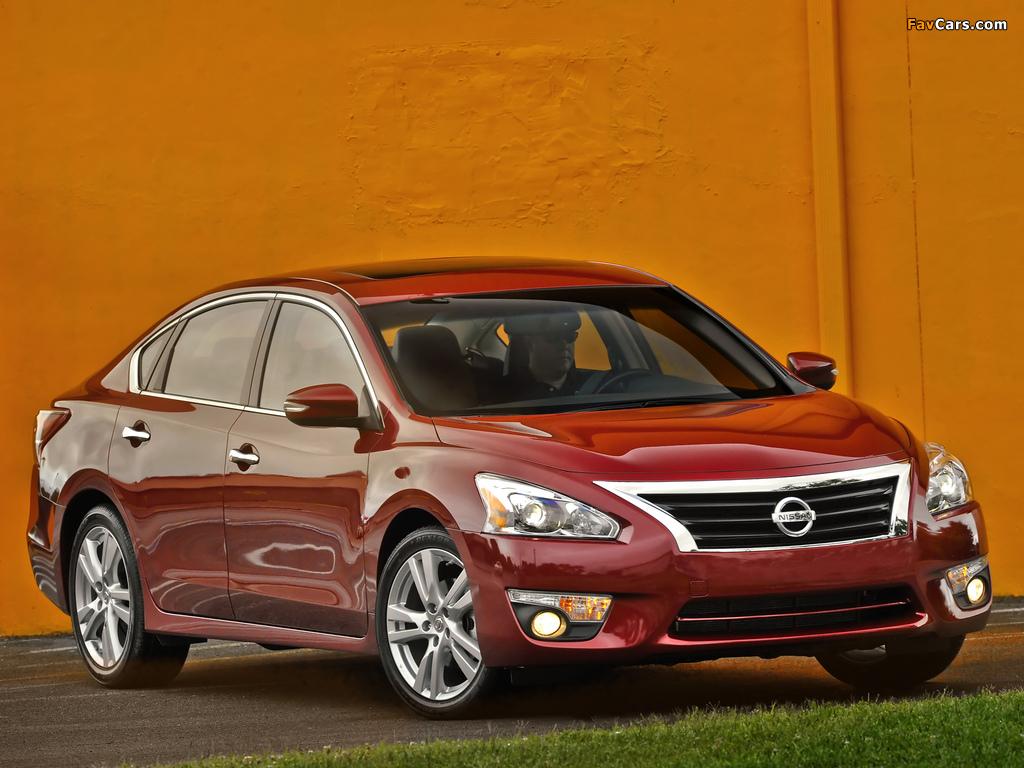 Nissan Altima (L33) 2012 pictures (1024 x 768)