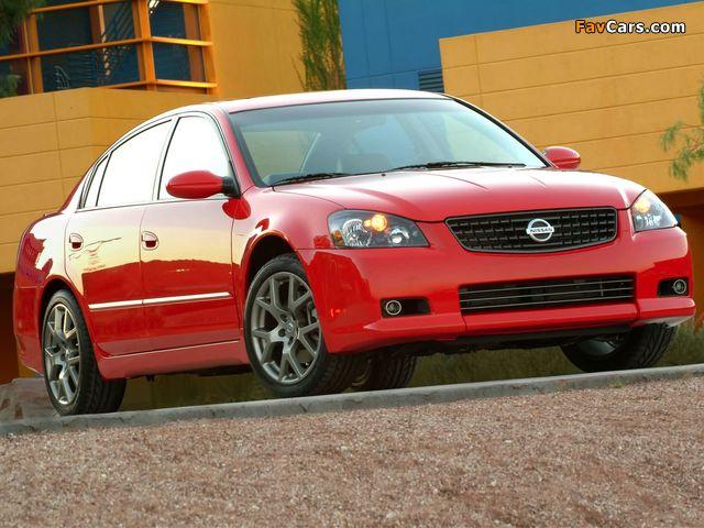 Photos of Nissan Altima SE-R 2002–06 (640 x 480)