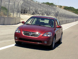 Photos of Nissan Altima 2002–06