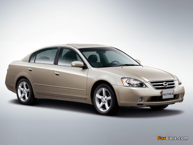 Pictures of Nissan Altima 2002–06 (640 x 480)