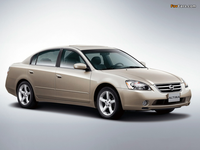 Pictures of Nissan Altima 2002–06 (800 x 600)